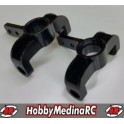 FRONT SPINDLE SET PRO (1/8 ACCEL/HELIOS)