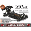 COCHE HB E819RS OFF-ROAD 1/8TT + COMBO HOBBYWING RX8 SCT Y MOTOR 1900KV