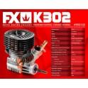 FX K302.1 - 3 PORTS, DLC, CERAMIC BEARING, BALANCED