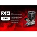 FX K501 - 5 PORTS, DLC, CERAMIC BEARING, BALANCED