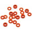 Arandelas ajuste Naranjas 3x6 x 0.5/1.0/2.0mm  (18)