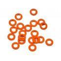 Arandela ajuste naranja 3x6x0.5mm (20)
