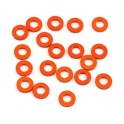 Arandela ajuste 3x6x1.0mm naranja (10) HB