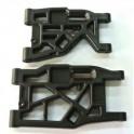 F/R lower suspension arm set ACCEL/HELIOS.
