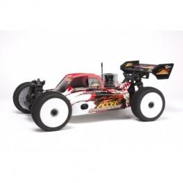 Coche 1/8 nitro  buggy accel RTR.