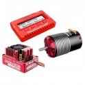 Combo 1/8 Corally motor 2150kv y variador Pro 160amp