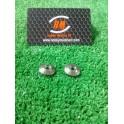Arandelas aluminio soporte alerón M3 ( 2und ).