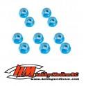 TUERCA AUTOBLOCANTE AZUL 3 MM (10)