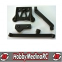 CHASSIS STIFFINER SET  & STEERING ACCEL.