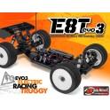 COCHE TRUGGY ECO E8T EVO3 1/8 HB RACING